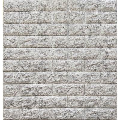 NW16 Çift Renk Gri Beyaz Kendinden Yapışkanlı Tuğla Esnek Duvar Paneli Fiyatları