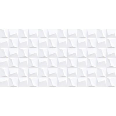 3 Boyutlu Geometrik Kare Gölgeli Gri Duvar Kağıdı