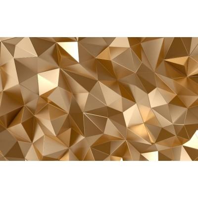 3 Boyutlu 3D Yaldız Renkli Geometrik Duvar Kağıdı