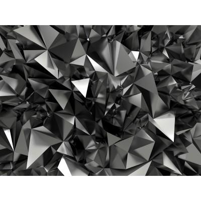 3D Geometrik Şekiller Duvar Kağıdı
