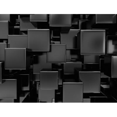 3 Boyutlu 3D Kareler Duvar Kağıdı