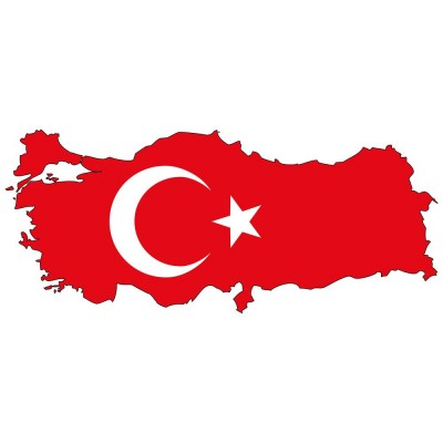 Türkiye Sınırları Türk Bayrağı Duvar Kağıdı