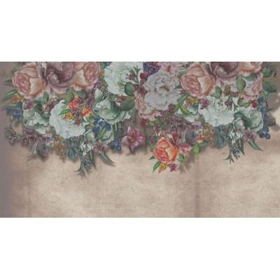 Renk Çeşitli Sarkmış Tomurcuklu Çiçekler Duvar Kağıdı