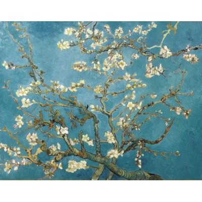 Van Gogh Ağaç Dalı Beyaz Çiçekler Duvar Kağıdı