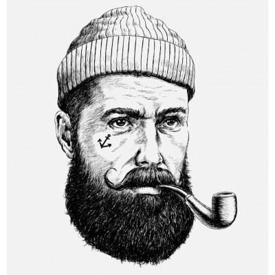 Erkek Berber Kuaför Sakallı Adam Duvar Kağıdı