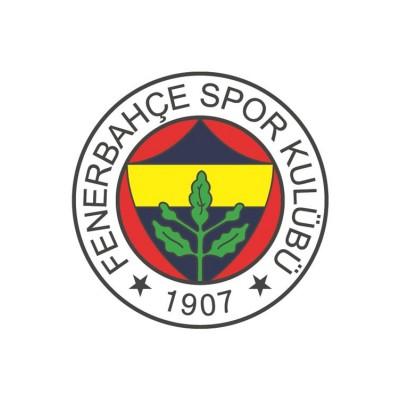 Fenerbahçe 1907 Sarı Lacivert Logo Duvar Kağıdı